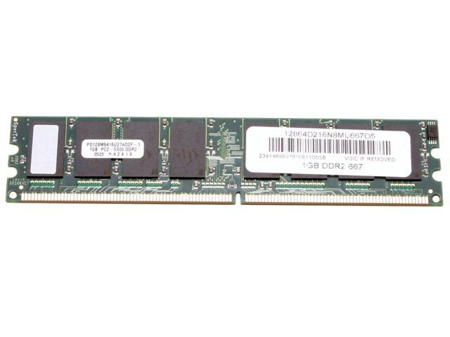 AllComponents 1GB 240-Pin DDR2 SDRAM DDR2 667 (PC2 5300) Desktop Memory Model AC2/667X64/1024