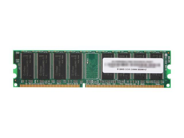 AllComponents 512MB 184-Pin DDR SDRAM DDR 333 (PC 2700) Desktop Memory Model AC333X64/512/16C - OEM