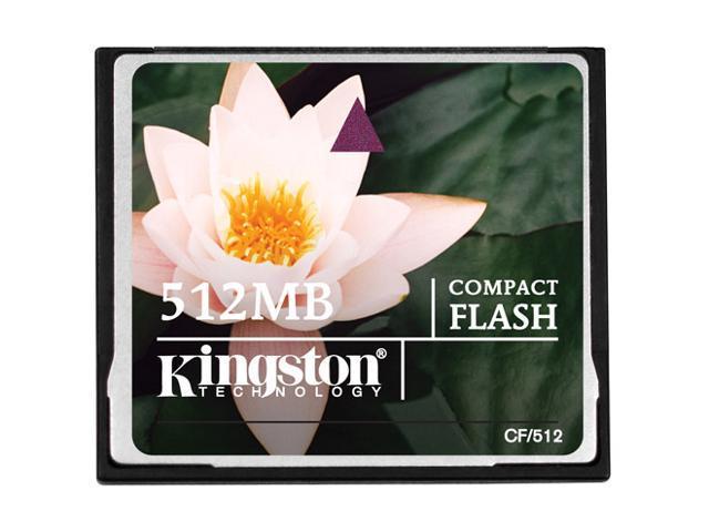 Kingston 512MB Compact Flash (CF) Flash Card Model CF/512