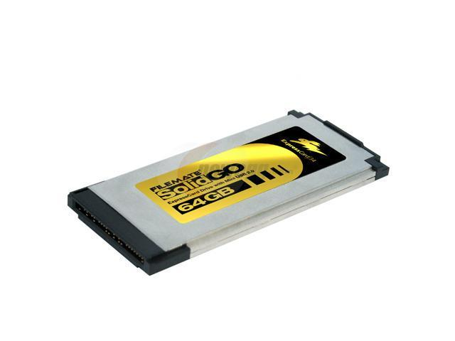 Wintec FileMate 64GB ExpressCard 34 with Mini USB 2.0 External Solid State Drive (SSD) 3FMS4U64M-WR
