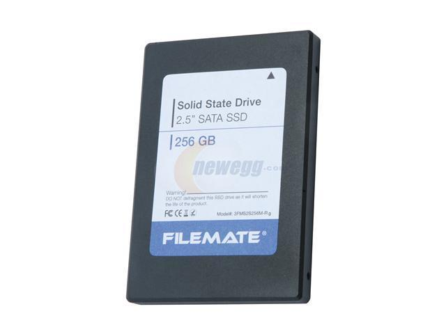 """Wintec FileMate 2.5"""" 256GB SATA II Internal Solid State Drive (SSD) 3FMS2S256M-R0"""