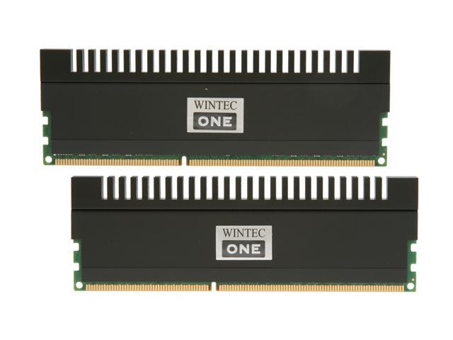 Wintec One 8GB (2 x 4GB) 240-Pin DDR3 SDRAM DDR3 1600 (PC3 12800) Desktop Memory Model 3OH16009U9H-8GK