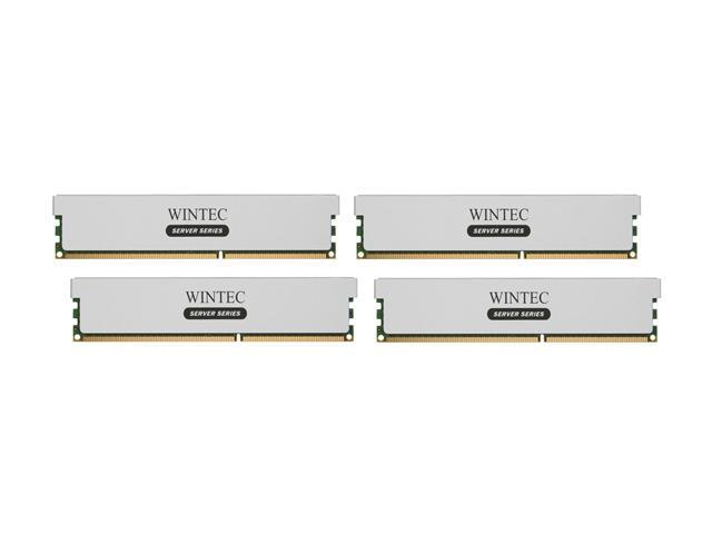 Wintec 32GB (4 x 8GB) 240-Pin DDR3 SDRAM ECC Registered DDR3 1333 (PC3 10666) Server Memory Model 3RSH13339R5H-32GQ