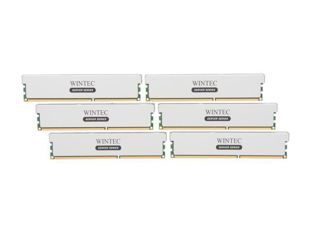 Wintec 48GB (6 x 8GB) 240-Pin DDR3 SDRAM ECC Registered DDR3 1333 (PC3 10666) Server Memory Model 3RSH13339R5H-48GH
