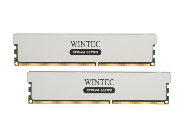 Wintec 16GB (2 x 8GB) 240-Pin DDR3 SDRAM ECC Registered DDR3 1333 (PC3 10666) Server Memory Model 3RSH13339R5H-16GK