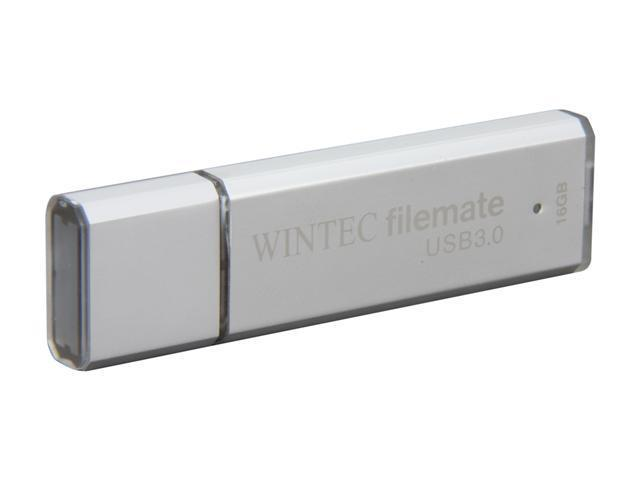 Wintec FileMate 16GB USB 3.0 Flash Drive Model 3FMSP02U3SL-16G-R