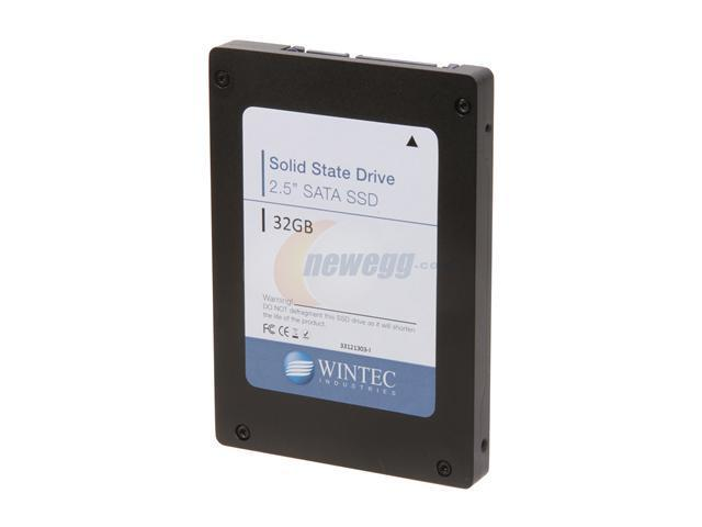 "Wintec Industrial Grade I-Temp 33121303-I 2.5"" 32GB SATA II SLC Enterprise Solid State Disk"