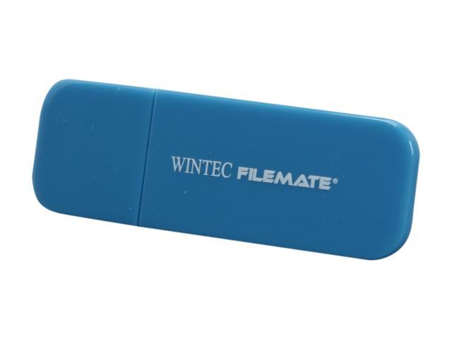 Wintec FileMate Contour 16GB USB 2.0 Flash Drive (Blue)