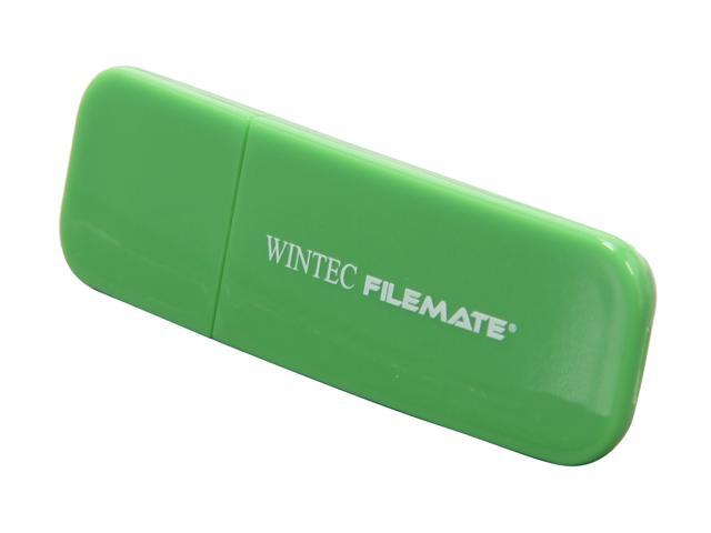 Wintec FileMate Contour 16GB USB 2.0 Flash Drive (Green)