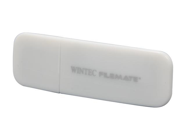 Wintec FileMate Contour 16GB USB 2.0 Flash Drive (White)