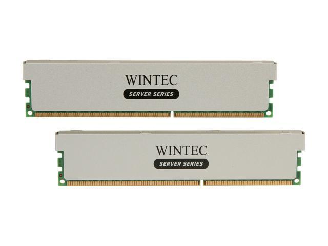 Wintec 16GB (2 x 8GB) 240-Pin DDR3 SDRAM ECC Registered DDR3 1600 (PC3 12800) Server Memory Model 3RSL160011R5H-16GK
