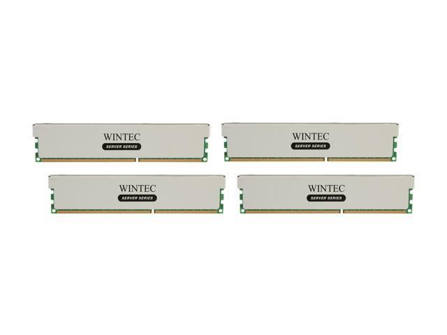 Wintec 32GB (4 x 8GB) 240-Pin DDR3 SDRAM ECC Registered DDR3 1600 (PC3 12800) Server Memory Model 3RSL160011R5H-32GQ