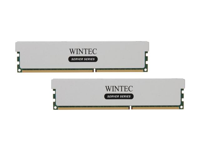 Wintec 16GB (2 x 8GB) 240-Pin DDR3 SDRAM ECC Registered DDR3 1600 (PC3 12800) Server Memory Model 3RSH160011R5H-16GK
