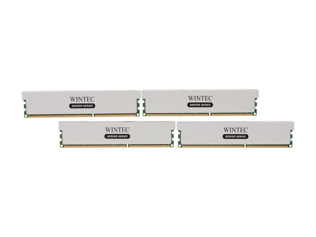 Wintec Server Series 64GB (4 x 16GB) 240-Pin DDR3 SDRAM ECC Registered DDR3 1333 (PC3 10600) Server Memory Model 3RSL13339R5H-64GQ