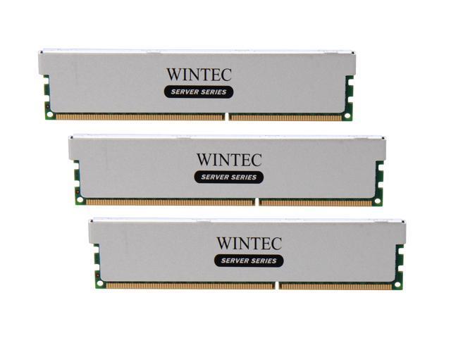 Wintec Server Series 48GB (3 x 16GB) 240-Pin DDR3 SDRAM ECC Registered DDR3 1600 (PC3 12800) Server Memory Model 3RSH160011R5H-48GT
