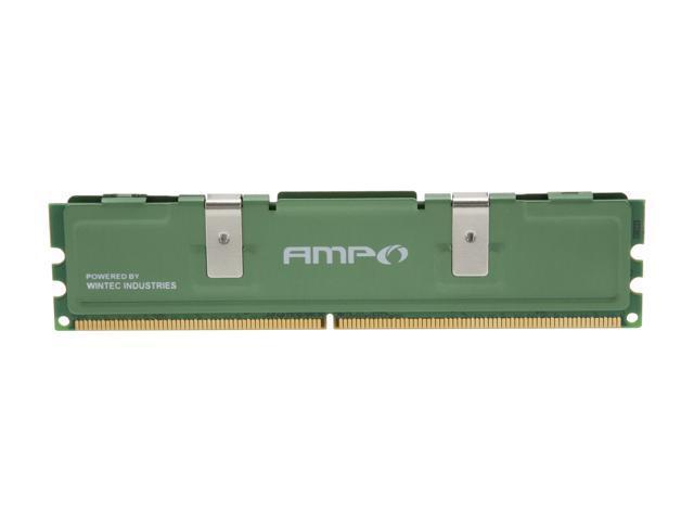 Wintec AMPO 1GB 240-Pin DDR2 SDRAM DDR2 667 (PC2 5300) Desktop Memory Model 3AMD2667-1G2-R