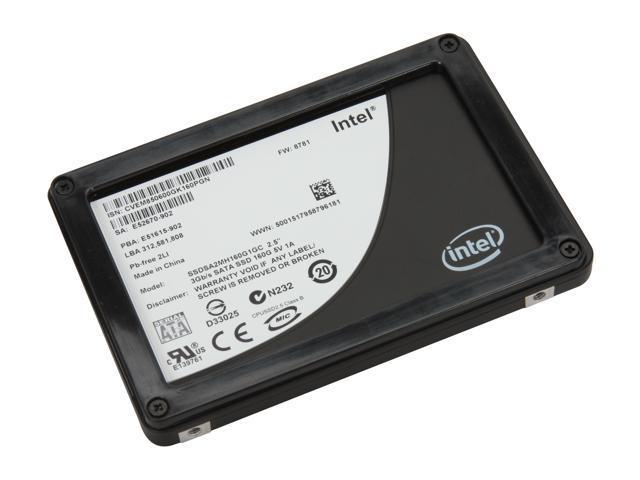 Intel X25-M 2.5