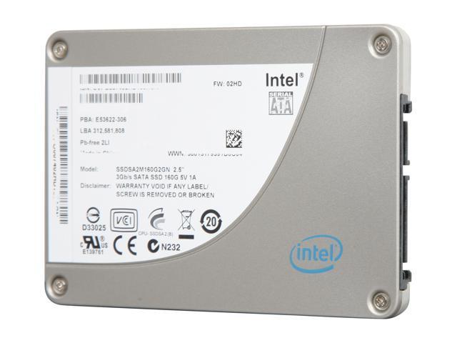 """Intel X25-M Mainstream 2.5"""" 160GB SATA II MLC Internal Solid State Drive (SSD) SSDSA2M160G201 - OEM"""