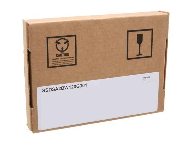 """Intel 320 Series 2.5"""" 120GB SATA II MLC Internal Solid State Drive (SSD) SSDSA2BW120G301 - OEM"""