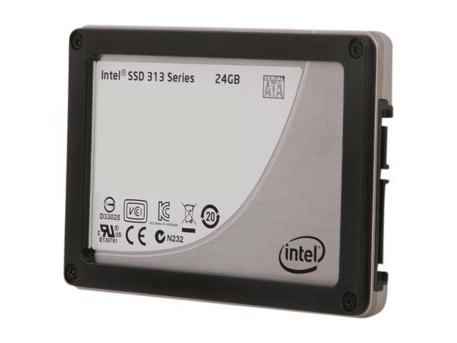 """Intel 313 Series 2.5"""" 24GB SATA II SLC Internal Solid State Drive (SSD) SSDSA2VP024G301"""