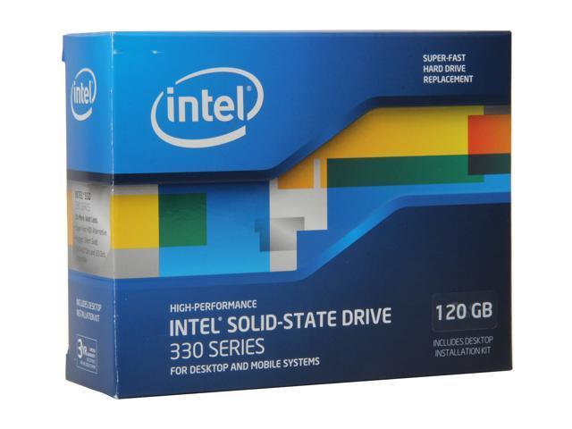 """Intel 330 Series Maple Crest 2.5"""" 120GB SATA III MLC Internal Solid State Drive (SSD) SSDSC2CT120A3K5"""