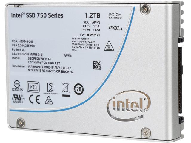 Intel 750 Series 2.5