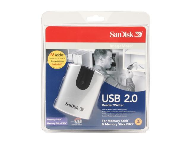 SanDisk SDDR-97-A15 2-in-1 USB 2.0 Card Reader