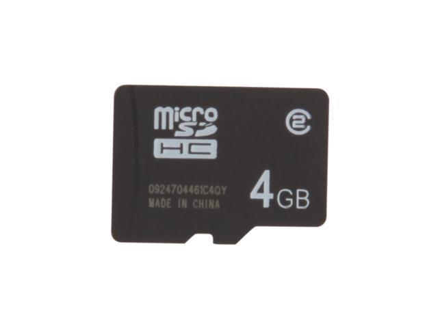SanDisk 4GB microSDHC Flash Card Model SDSDQ-004G-A11M