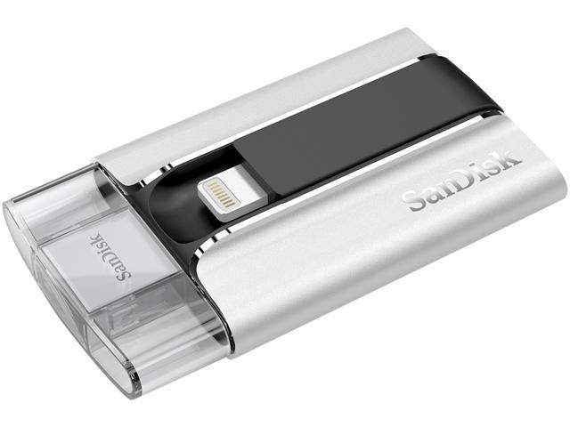 SanDisk iXpand 32GB Flash Drive for iPhone and iPad Model SDIX-032G-G57