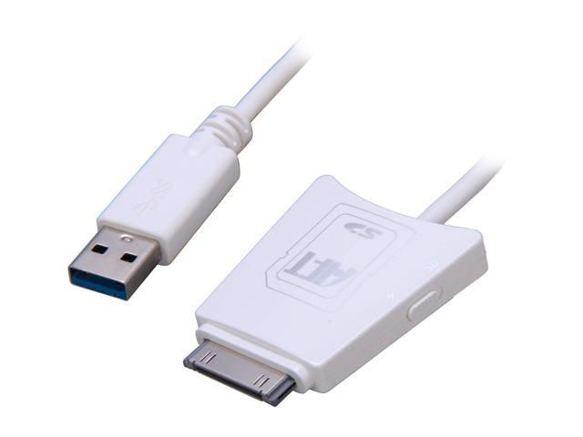 AFT iDuo2Go USB 3.0 Charge/Sync Cable plus USB 3.0 SD Reader