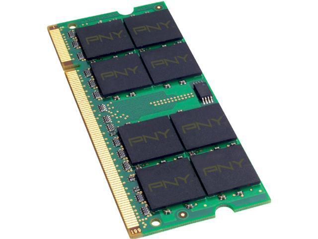 PNY Optima 2GB 200-Pin DDR2 SO-DIMM DDR2 667 (PC2 5300) Laptop Memory Model MN2048SD2-667