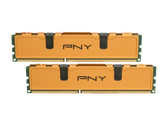 PNY Optima 4GB (2 x 2GB) 240-Pin DDR3 SDRAM DDR3 1333 (PC3 10666) Desktop Memory Model MD4096KD3-1333