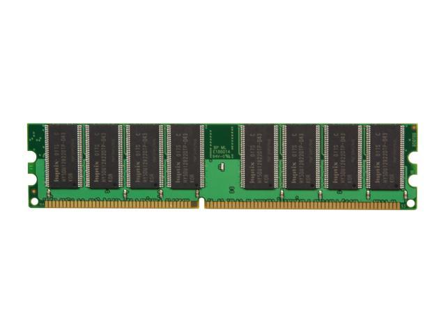 PNY Optima 1GB 184-Pin DDR SDRAM DDR 400 (PC 3200) Desktop Memory Model MD1024SD1-400-V2