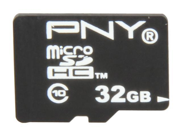 PNY 32GB microSDHC Flash Card for Tablet PCs Model P-SDU32G10TEFM1
