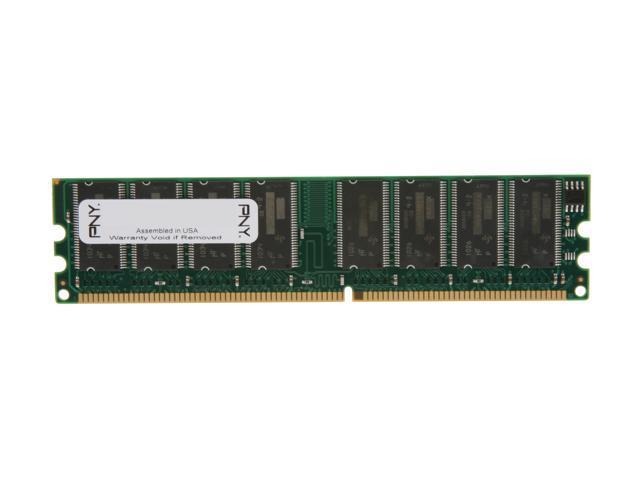 PNY 512MB 184-Pin DDR SDRAM DDR 400 (PC 3200) Desktop Memory Model MD0512SD1-400-V2