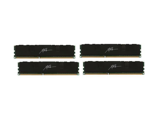 PNY XLR8 16GB (4 x 4GB) 240-Pin DDR3 SDRAM DDR3 1600 (PC3 12800) Desktop Memory Model MD16384K4D3-1600-X9