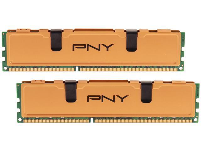 PNY 8GB (2 x 4GB) 240-Pin DDR3 SDRAM DDR3 1333 (PC3 10666) Desktop Memory Model MD8192KD3-1333-V2