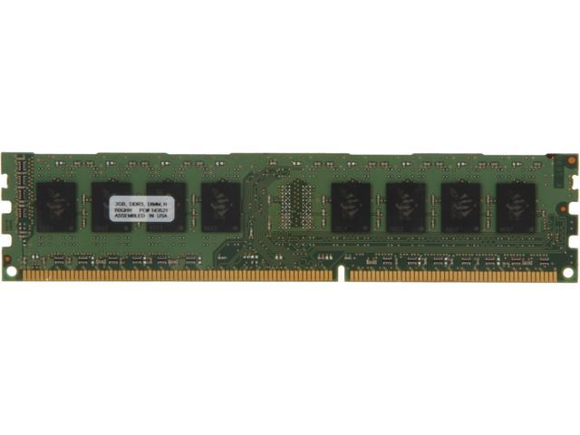 PNY 2GB 240-Pin DDR3 SDRAM DDR3 1333 (PC3 10666) Desktop Memory Model MD2048SD3-1333-NHS-V2