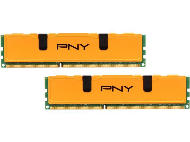 PNY Optima 16GB (2 x 8GB) 240-Pin DDR3 SDRAM DDR3 1333 (PC3 10666) Desktop Memory Model MD16384KD3-1333-V2