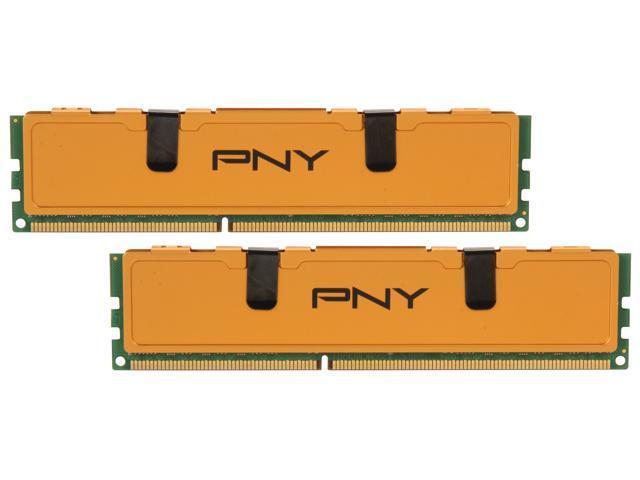 PNY Optima 16GB (2 x 8GB) 240-Pin DDR3 SDRAM DDR3 1333 (PC3 10666) Desktop Memory Model MD16384KD3-1333