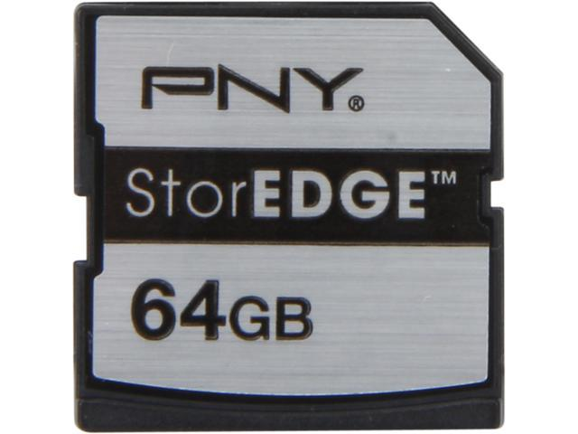 PNY StorEDGE 64GB Secure Digital Extended Capacity (SDXC) Flash Mmeory Expansion Module For Macbook Air and Macbook Pro With retina display Model P-MEMEXP64U1-EF