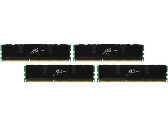 PNY XLR8 32GB (4 x 8GB) 240-Pin DDR3 SDRAM DDR3 1600 (PC3 12800) Desktop Memory Model MD32768K4D3-1600-X9