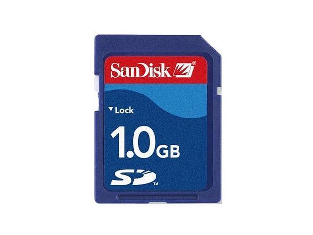 SanDisk 1GB Secure Digital (SD) Flash Card Model SDSDB-1024-A11