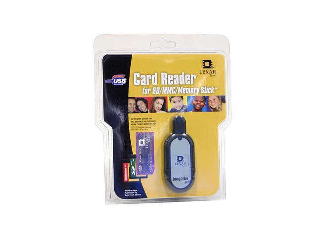 Lexar JDT-231 3-in-1 USB 2.0 Card Reader