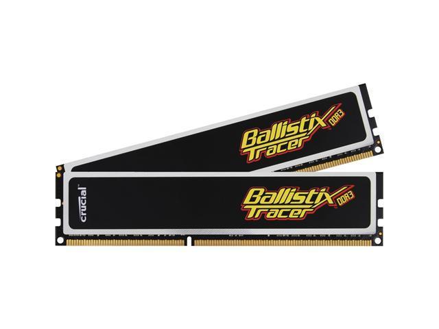 Crucial Ballistix 4GB (2 x 2GB) 240-Pin DDR3 SDRAM DDR3 1600 (PC3 12800) Desktop Memory
