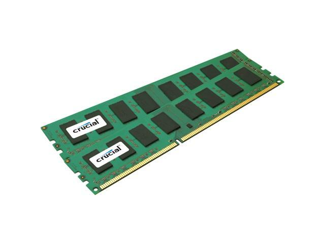 Crucial 16GB (2x8GB) 240-Pin DDR3 1600 (PC3 12800) Server Memory Model CT2KIT102472BB160B