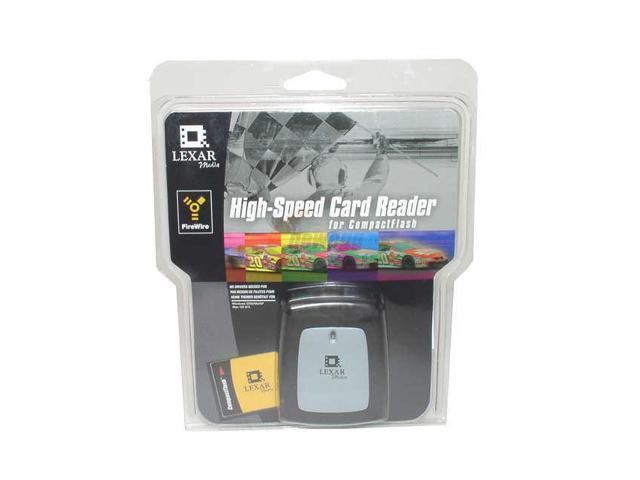 Lexar RW019-001 2-in-1 IEEE 1394 Card Reader