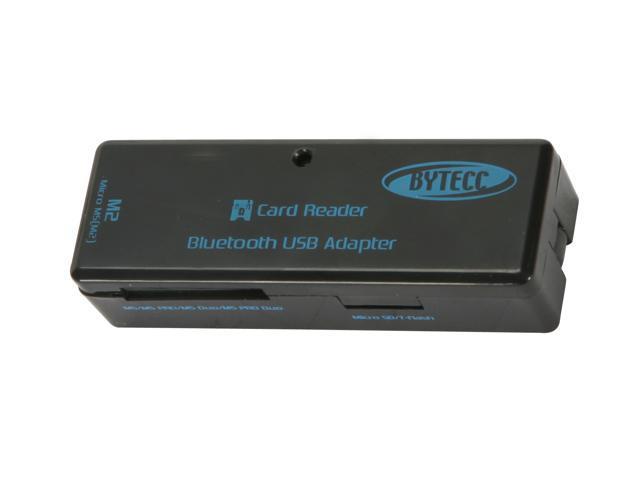 BYTECC PG-1000 USB 2.0 4-slot Card reader + BlueTooth