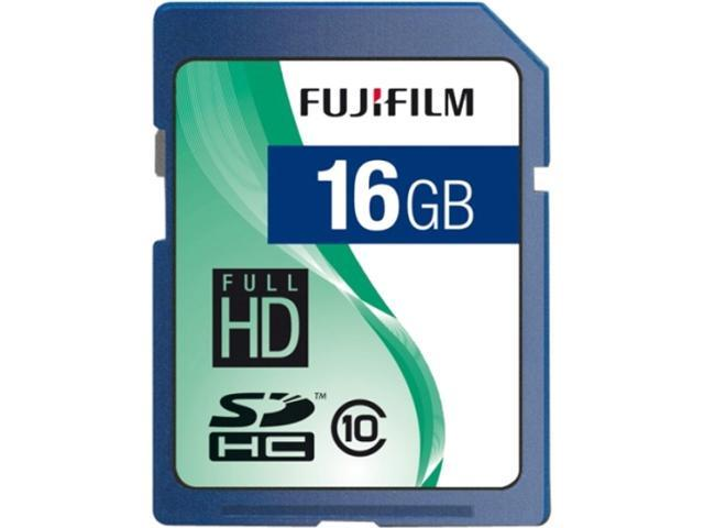 FUJIFILM 16GB Secure Digital High-Capacity (SDHC) Flash Card Model 600008926
