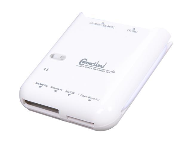 SYBA CL-CRD20038 All-in-one USB 2.0 USB 2.0 Memory and SIM Card Reader
